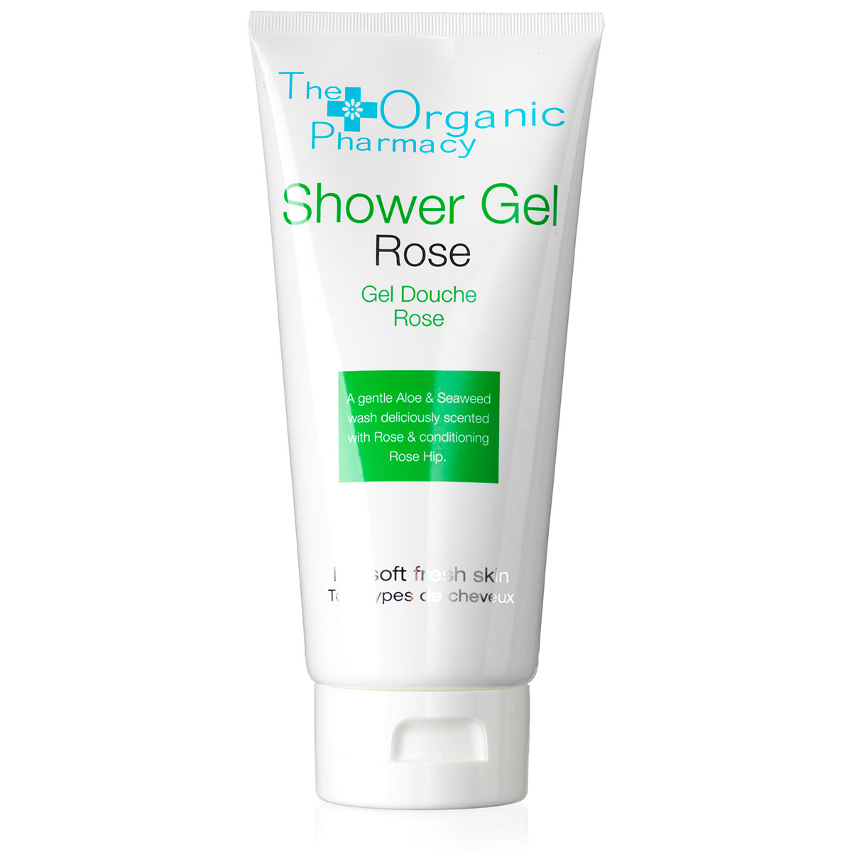 Billede af The Organic Pharmacy Rose Shower Gel - 200 ml