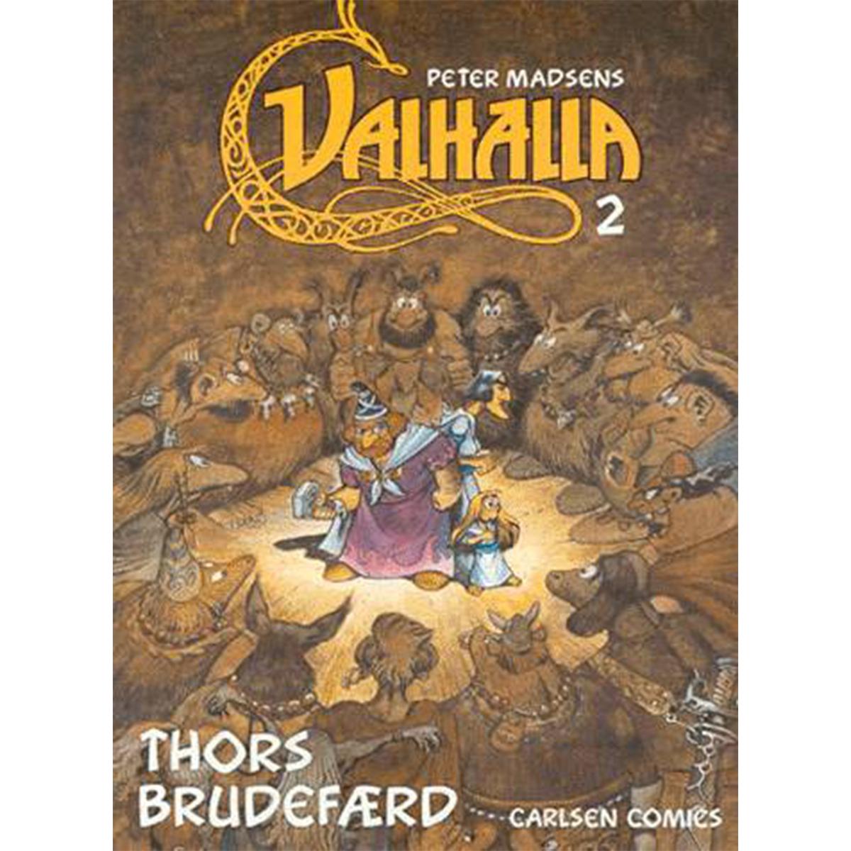 Image of   Thors brudefærd - Et sagn fra den ældre edda - Valhalla 2 - Hæftet