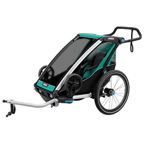 Thule cykelanhænger - Chariot Lite 1 - Grøn/sort | bike_trailers_component