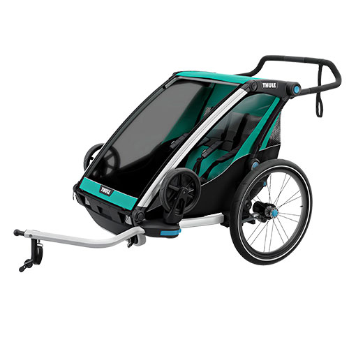 Thule cykelanhænger - Chariot Lite 2 - Grøn/sort | bike_trailers_component