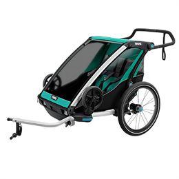 Image of   Thule cykelanhænger - Chariot Lite 2 - Grøn/sort