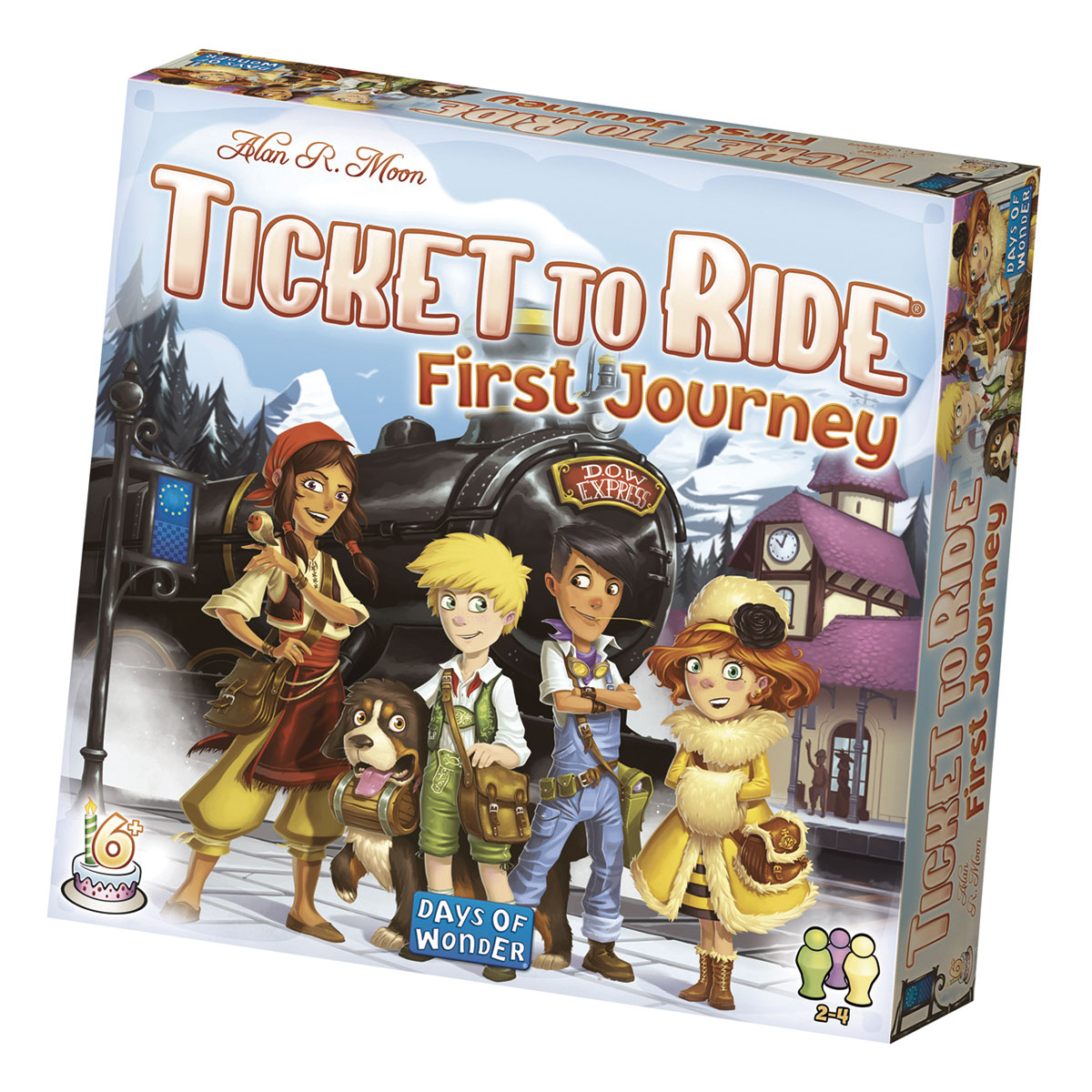 Image of   Ticket to Ride - First Journey