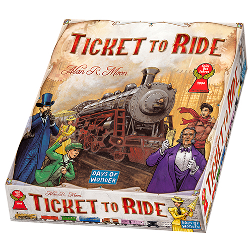 Image of   Ticket to Ride - USA