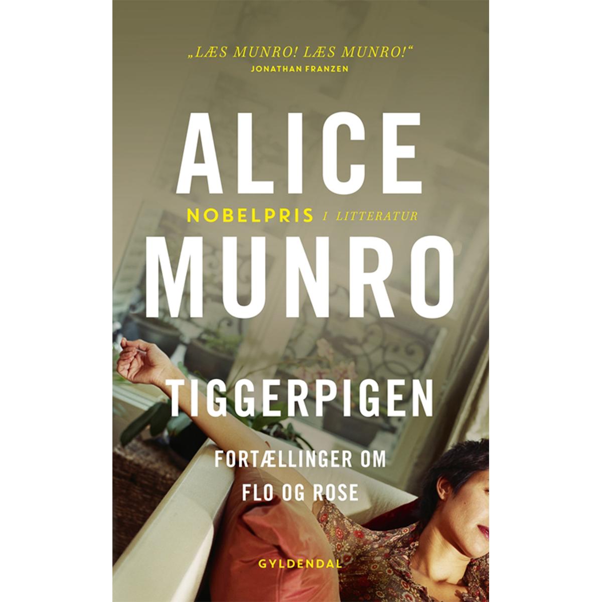 Image of   Tiggerpigen - fortællinger om Flo og Rose - Paperback