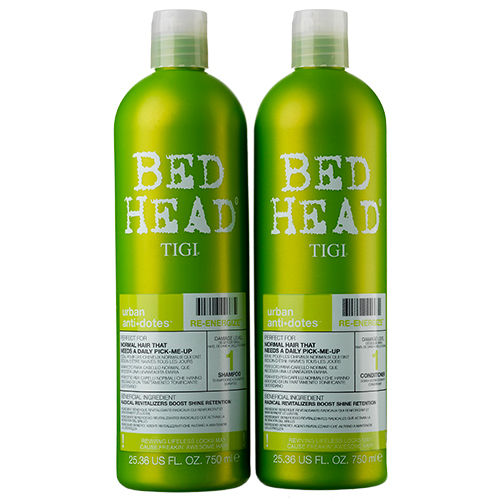 Image of   TIGI Bed Head Re-Energize Tween - 2 x 750 ml