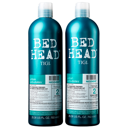 Image of   TIGI Bed Head Recovery Tween - 2 x 750 ml