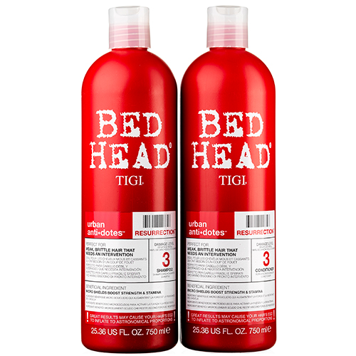 Image of   TIGI Bed Head Resurrection Tween - 2 x 750 ml