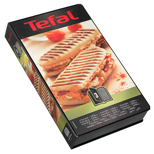 Tilbehør til Tefal Snack Collection Box 3 - Panini