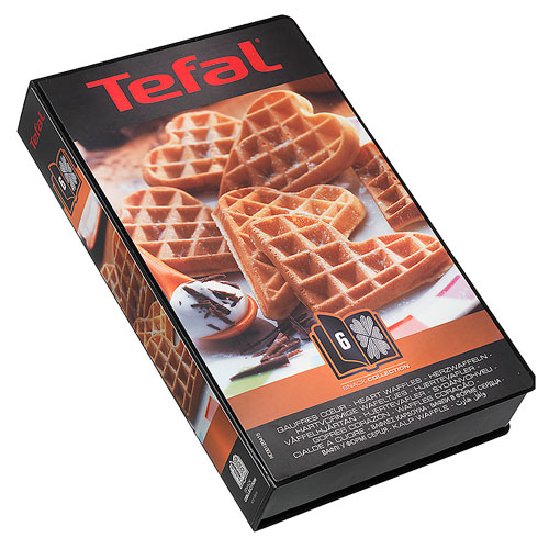 Tilbehør til Tefal Snack Collection Box 6 - Hjerteformede vafler