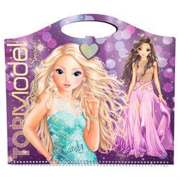 Image of   Top Model designbog - Glamour special