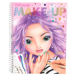Image of   Top Model designbog - Make-up