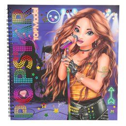 Image of   Top Model designbog - Popstar