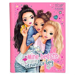 Image of   Top Model venindebog - Mine bedste veninder bog