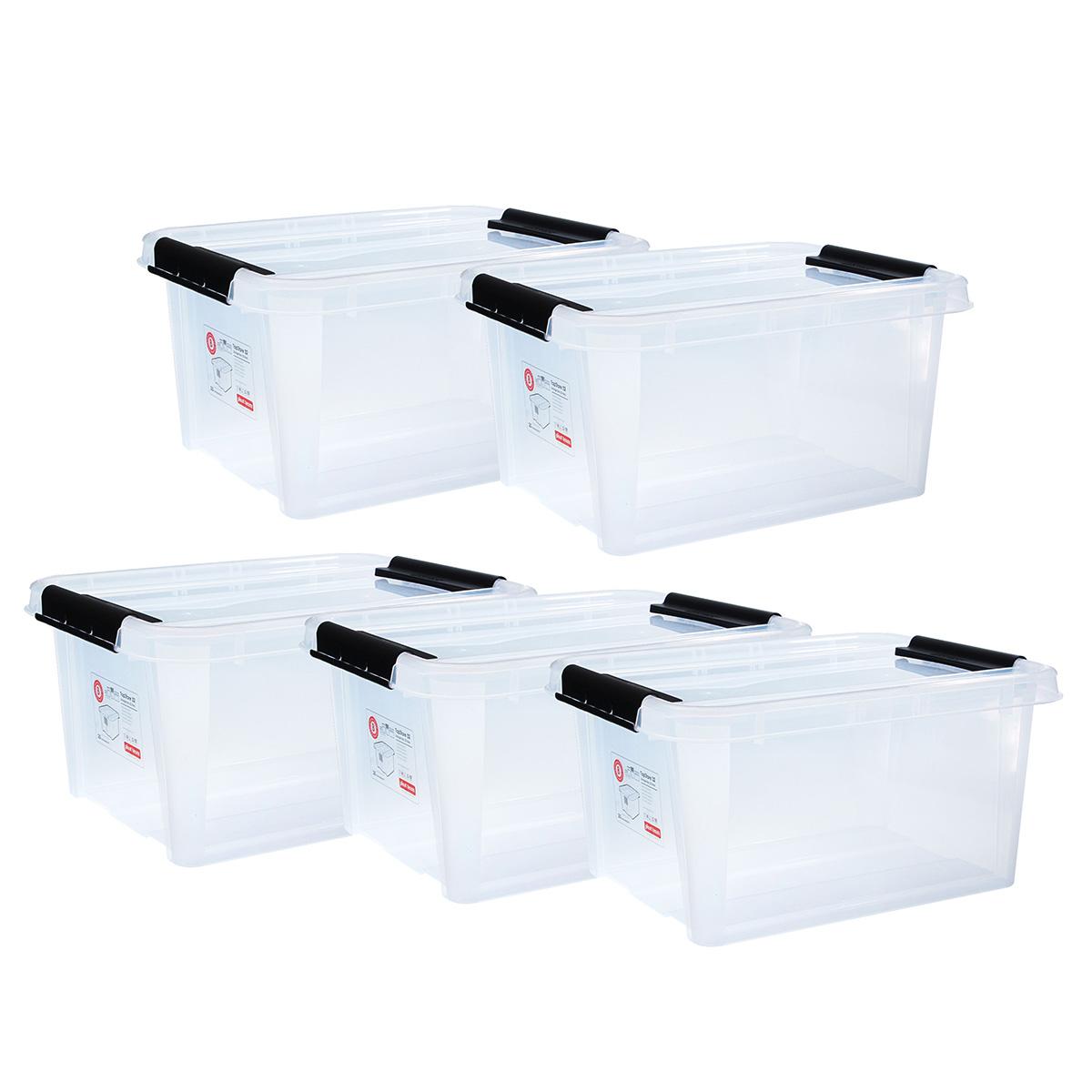 Top store opbevaringskasse - 32 liter