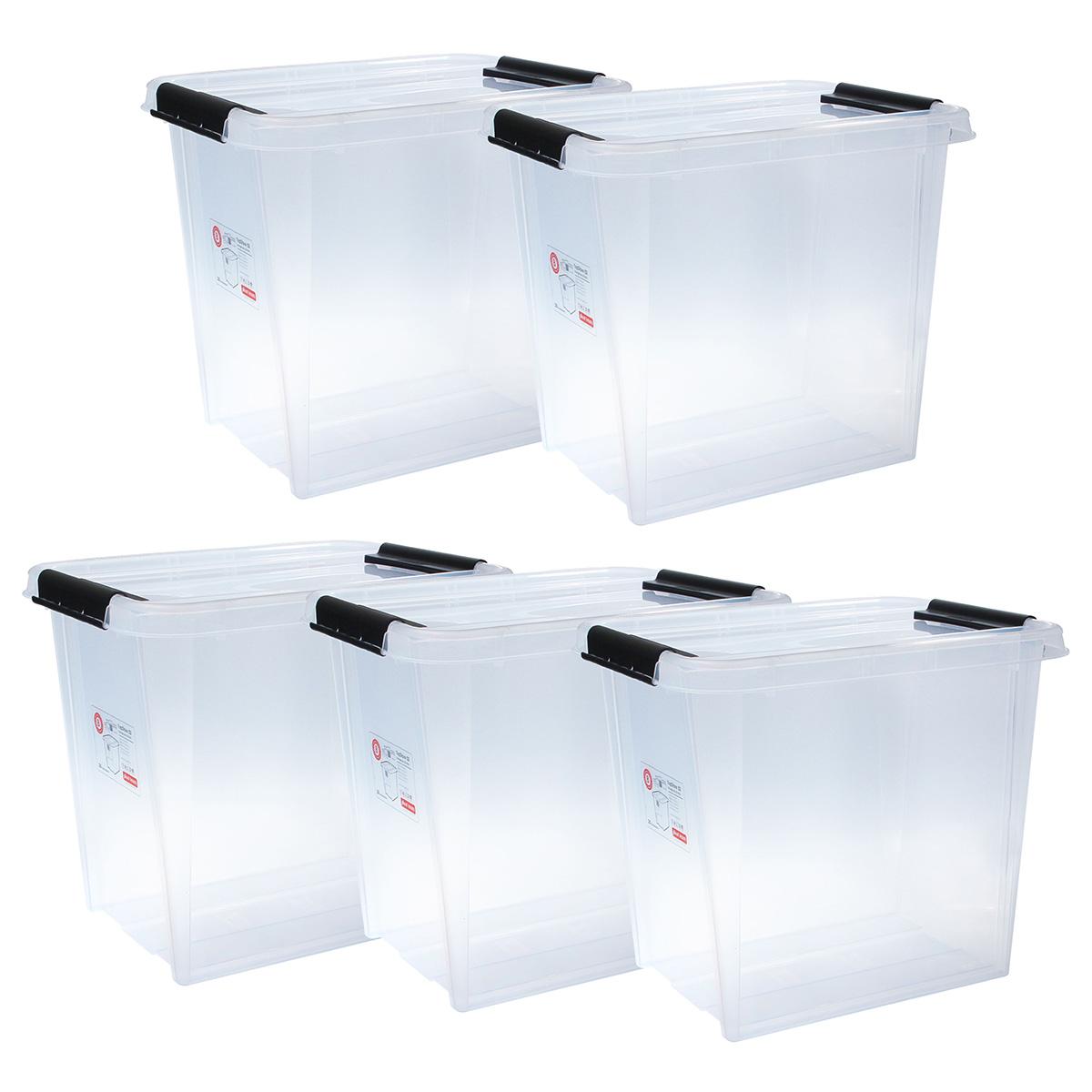 Top store opbevaringskasse - 52 liter