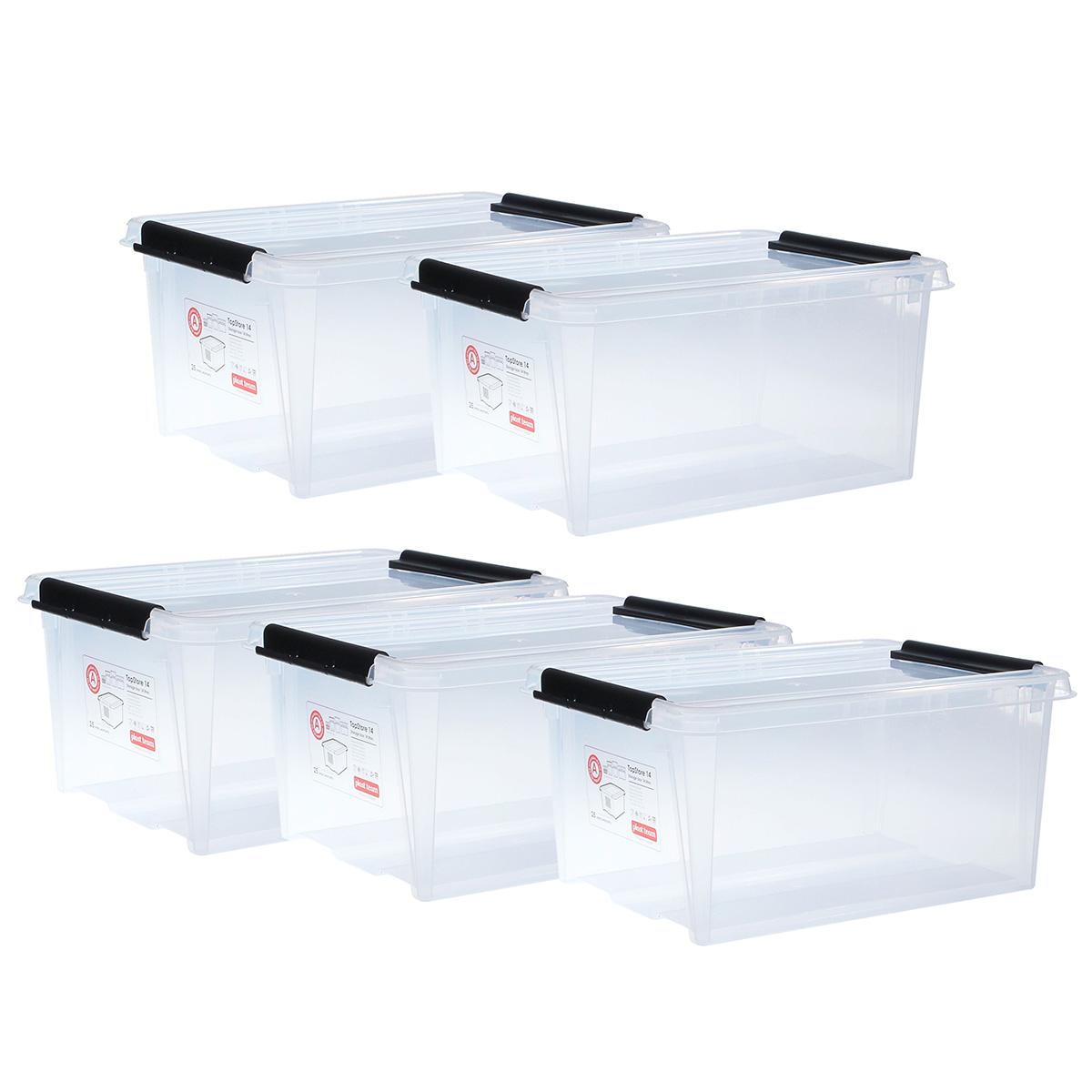 Billede af Top store opbevaringskasser - 14 liter