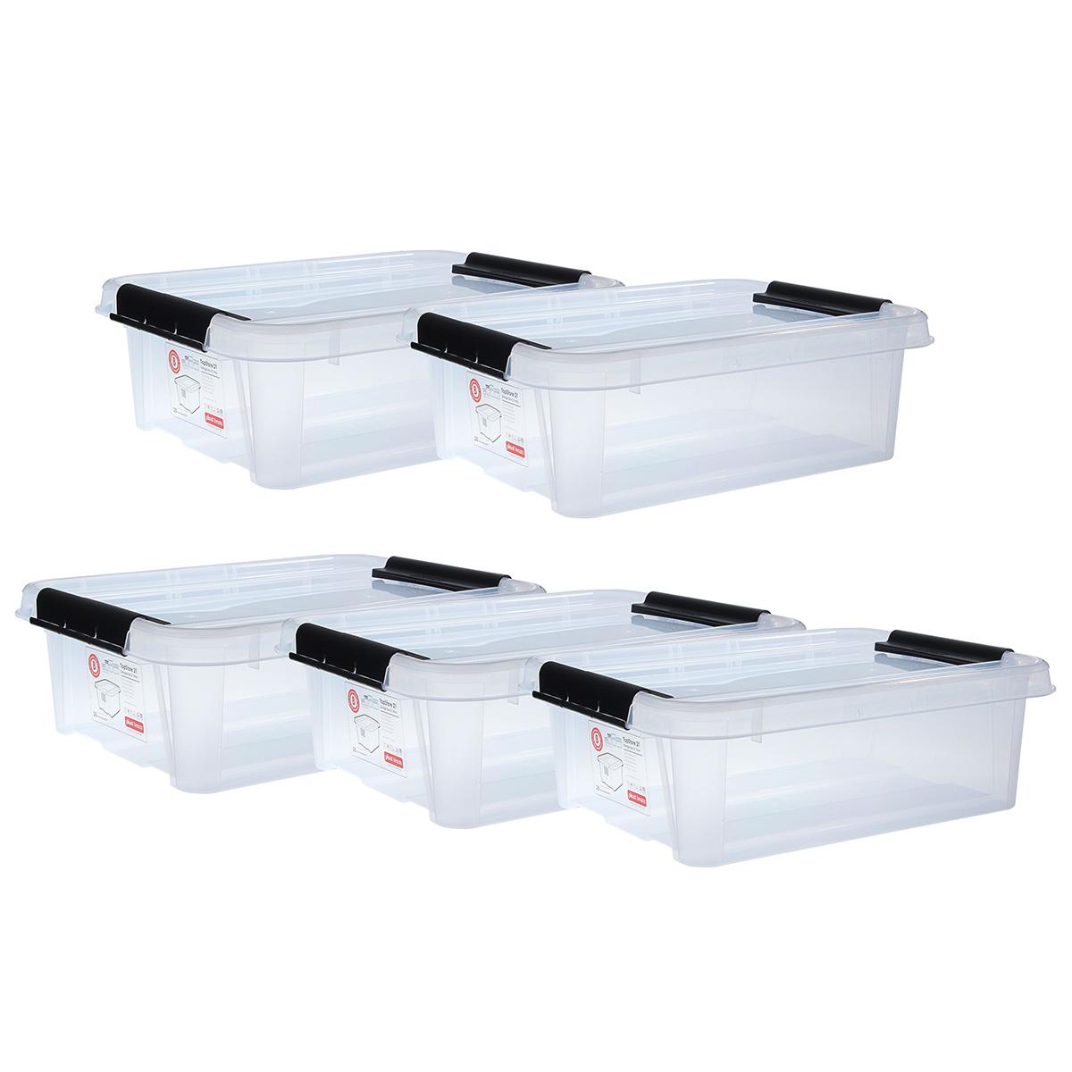 Top store opbevaringskasser - 21 liter