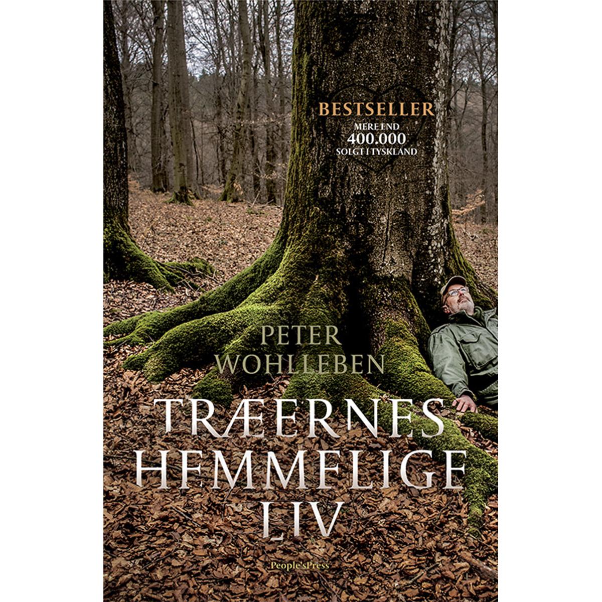Image of   Træernes hemmelige liv - Indbundet