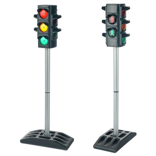 Image of   Trafiklys i børnehøjde