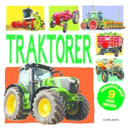Billede af Traktorer - i boks med 9 bøger - Papbog