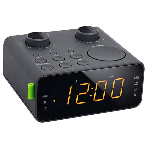 Trident Traders vækkeur - 10.500 PPL FM Dual - Sort