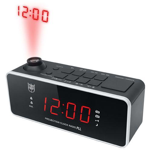 38b352539ae Trident Traders vækkeur - Madrid Clockradio med projektion - Sort - Coop.dk