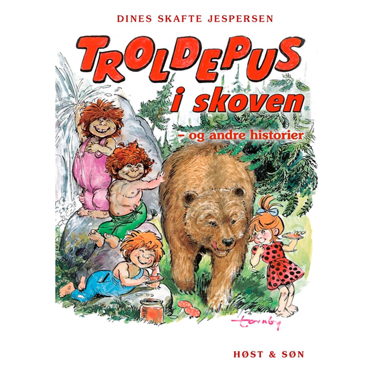 Troldepus i skoven - Og andre historier - Troldepus 1-10 - Indbundet