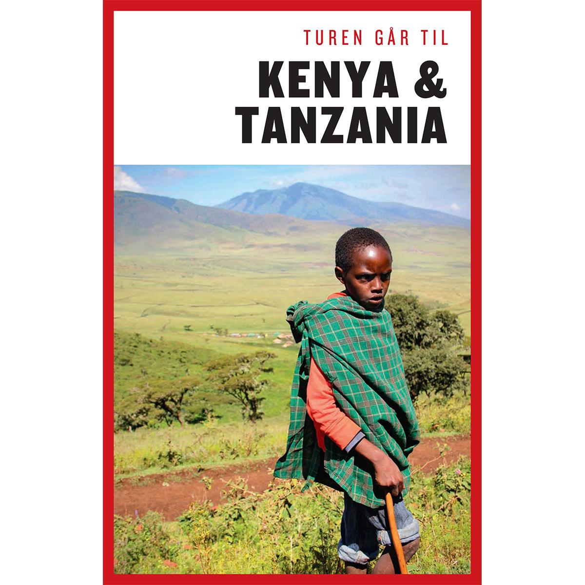 Image of   Turen går til Kenya & Tanzania - Hæftet