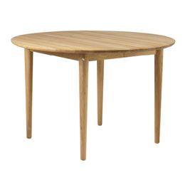 Unit10 spisebord med udtræk - C62 Bjørk - Eg