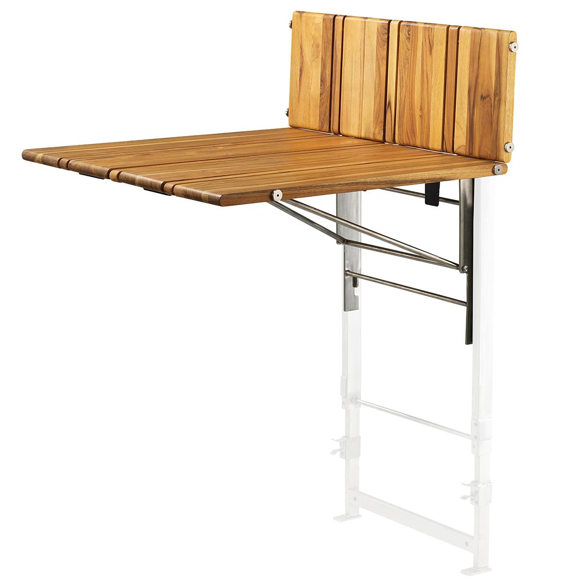 sammenklappeligt bord Upon bord   Teaktræ Sammenklappeligt møbel til altanen   Coop.dk sammenklappeligt bord