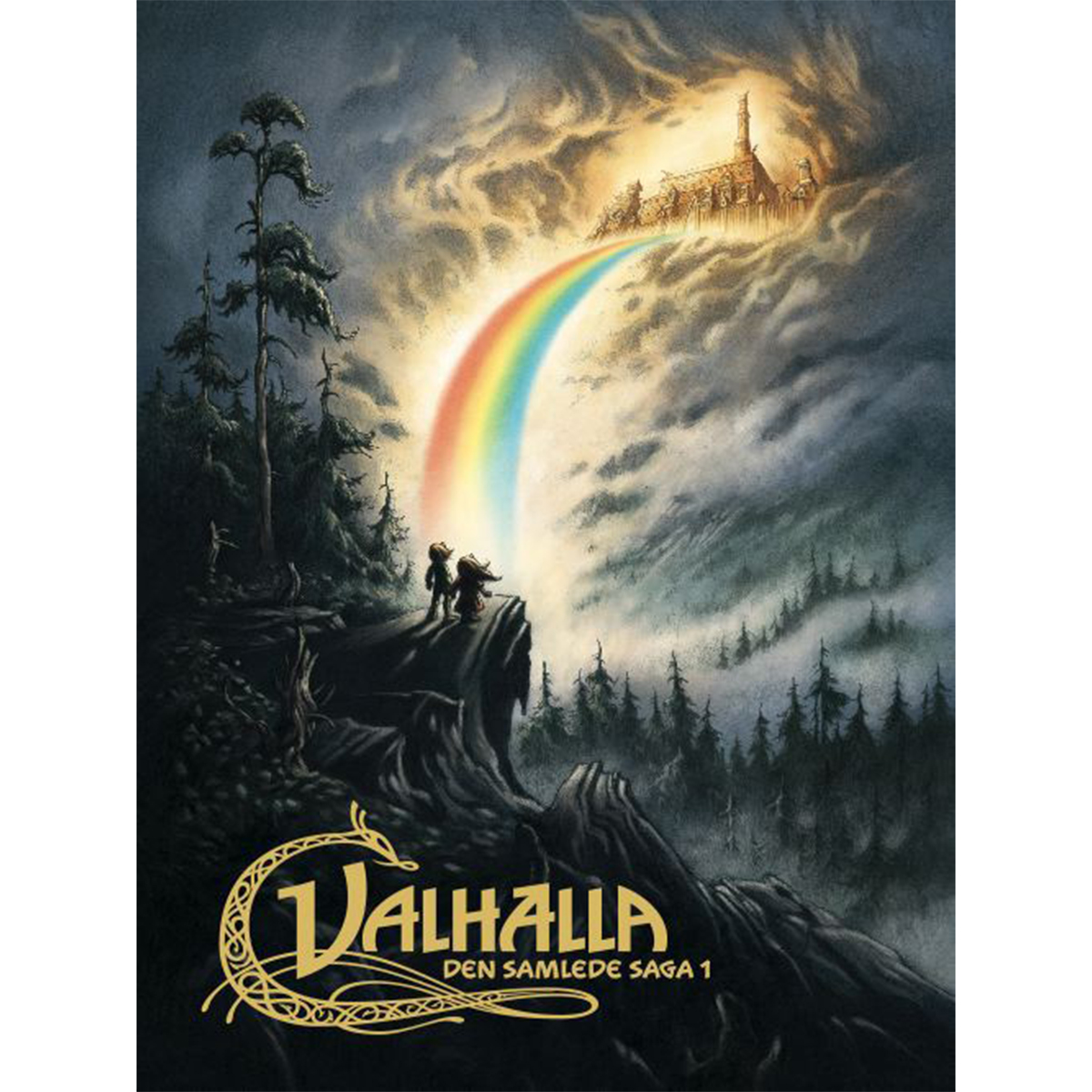 Image of   Valhalla - Den samlede saga 1 - Indbundet
