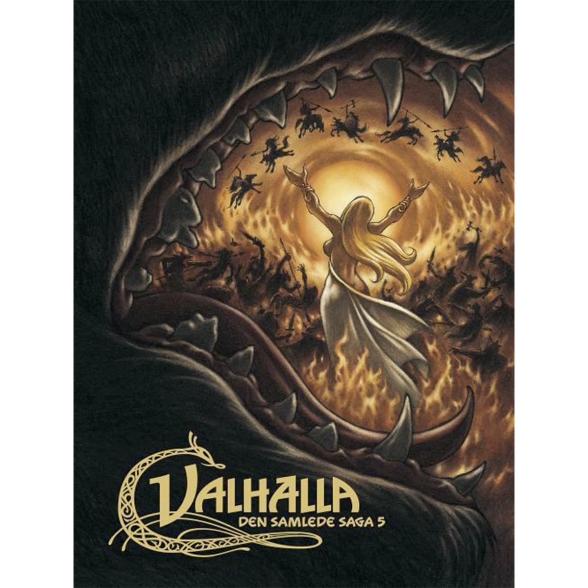 Image of   Valhalla - Den samlede saga 5 - Indbundet