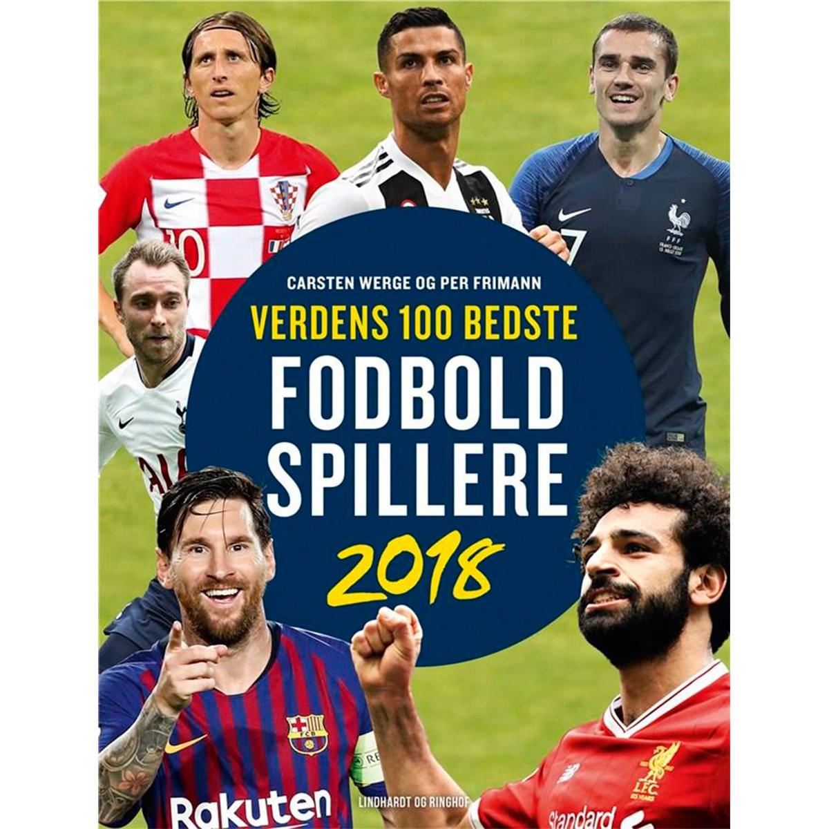 Image of   Verdens 100 bedste fodboldspillere 2018 - Indbundet