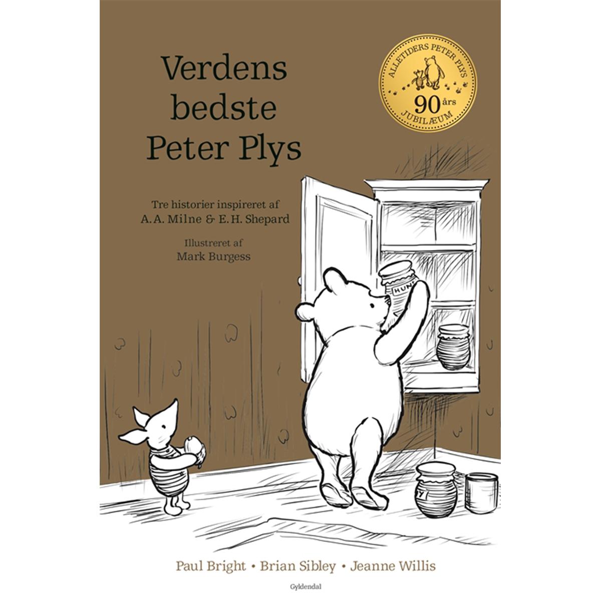 Image of   Verdens bedste Peter Plys - Indbundet