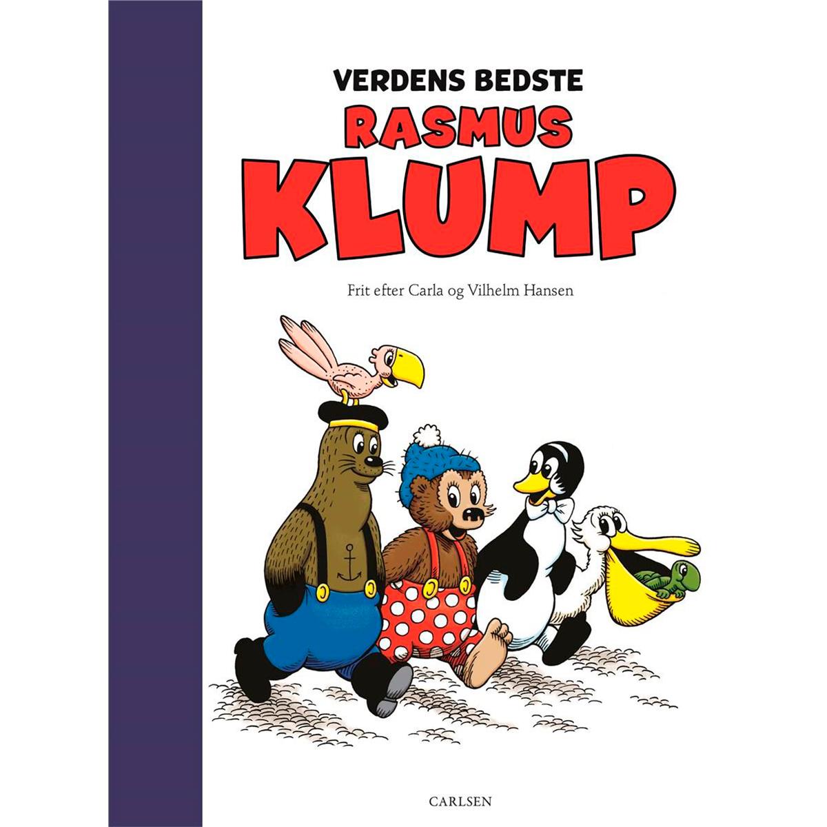 Image of   Verdens bedste Rasmus Klump - Indbundet