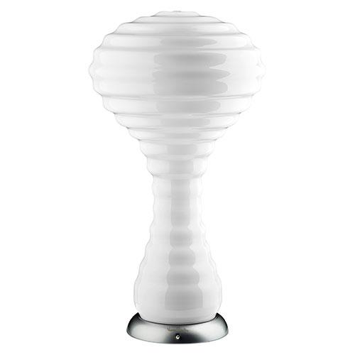 Verner Panton bordlampe - New Wave 1970 - Hvid