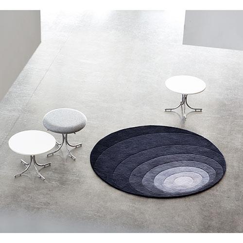 Verner Panton gulvtæppe - Luna - Grå
