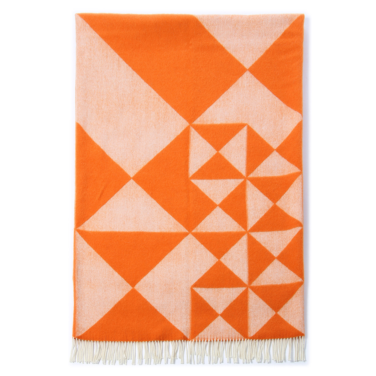 Image of   Verner Planton plaid - Mirror - Orange