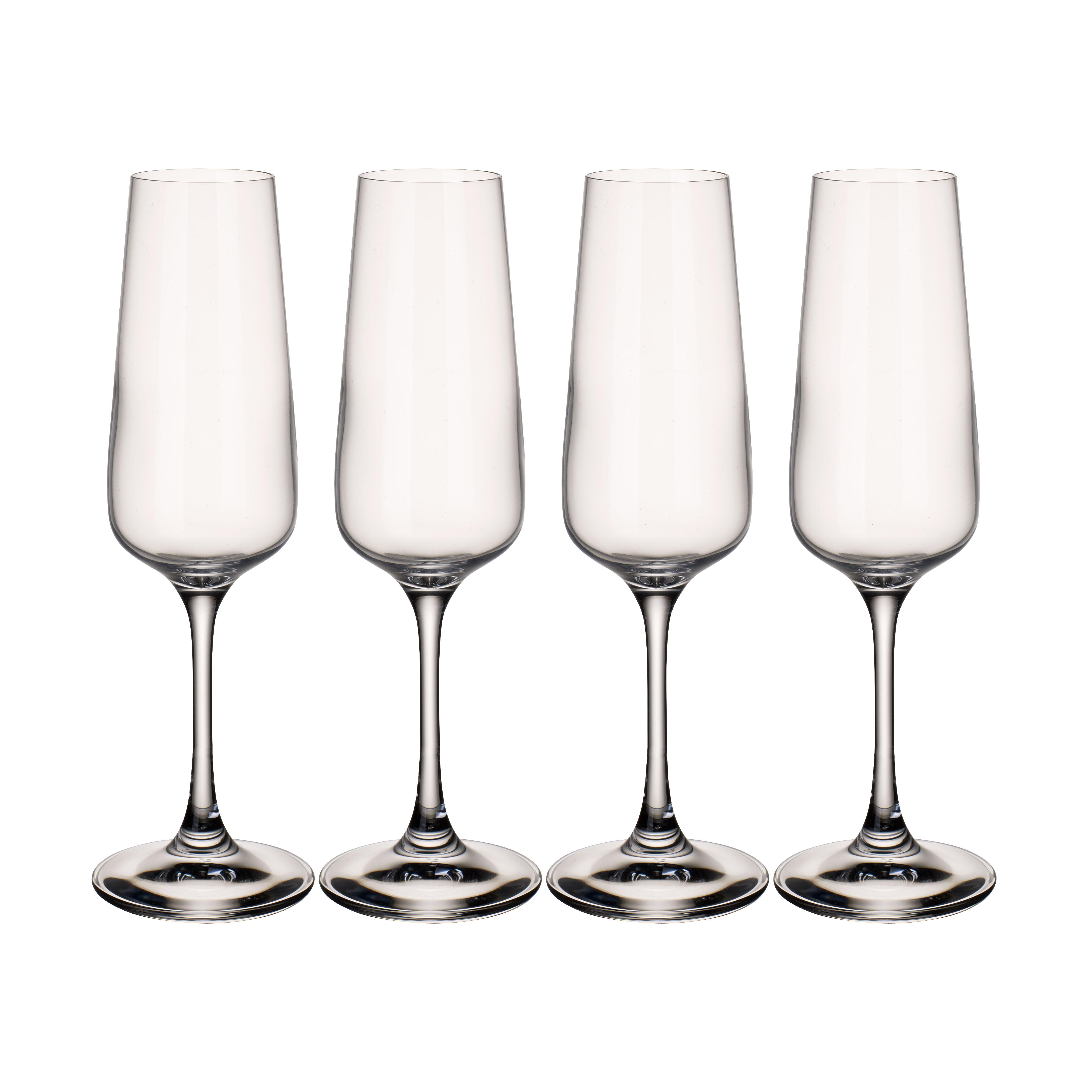 Billede af Villeroy & Boch champagneglas - Ovid - 4 stk.