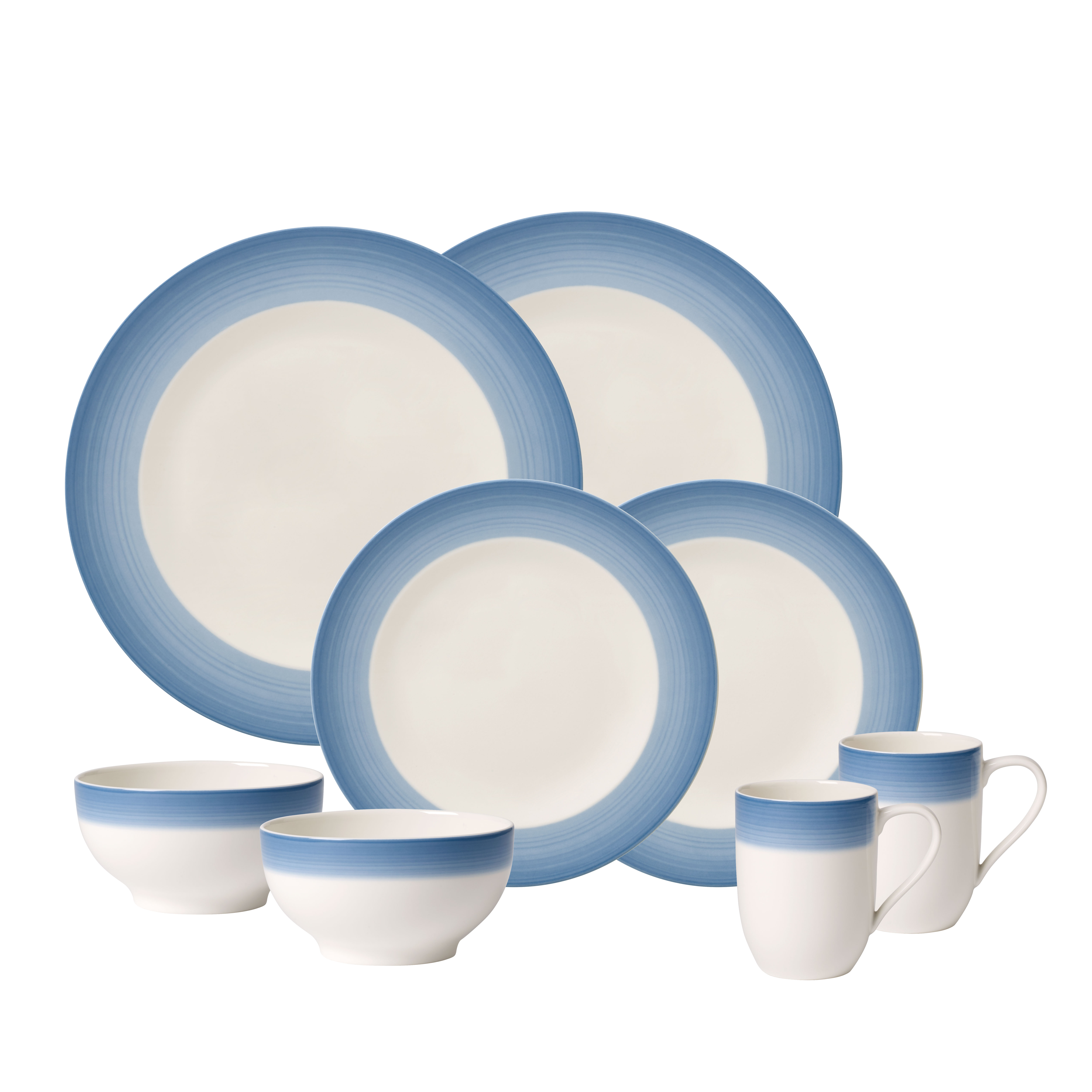 Villeroy & Boch stel til 2 personer - Colourful Life - Winter Sky