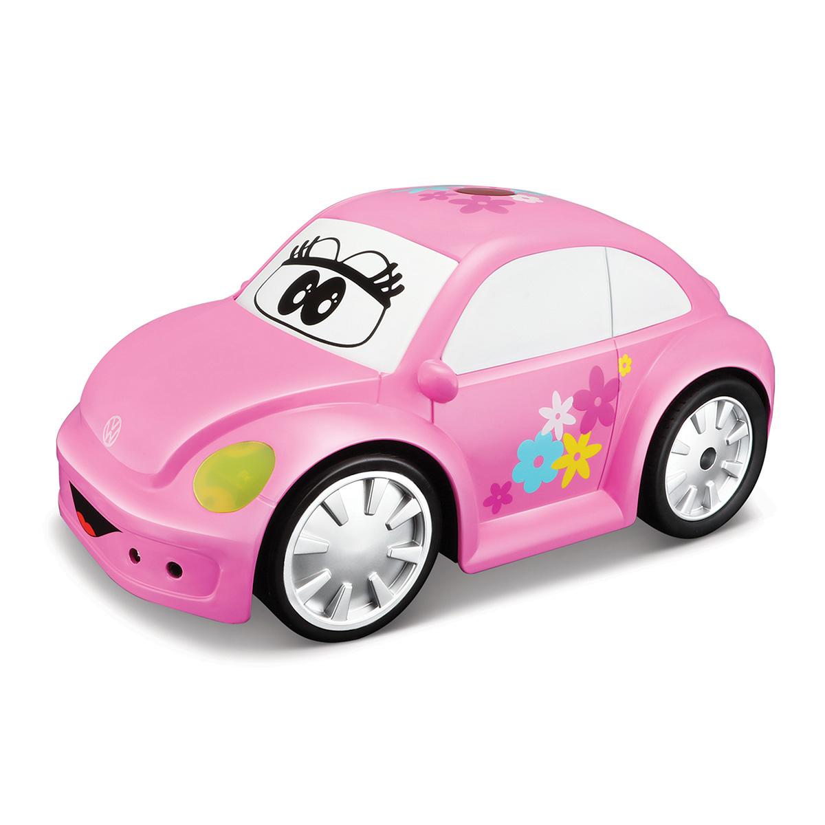 Image of   Volkswagen fjernstyret bil - Easy Play RC - Lyserød