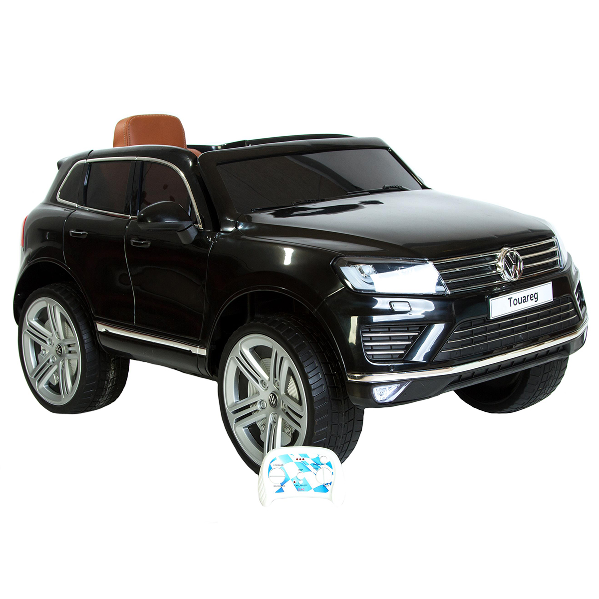 VW elbil - Touareg - Sort
