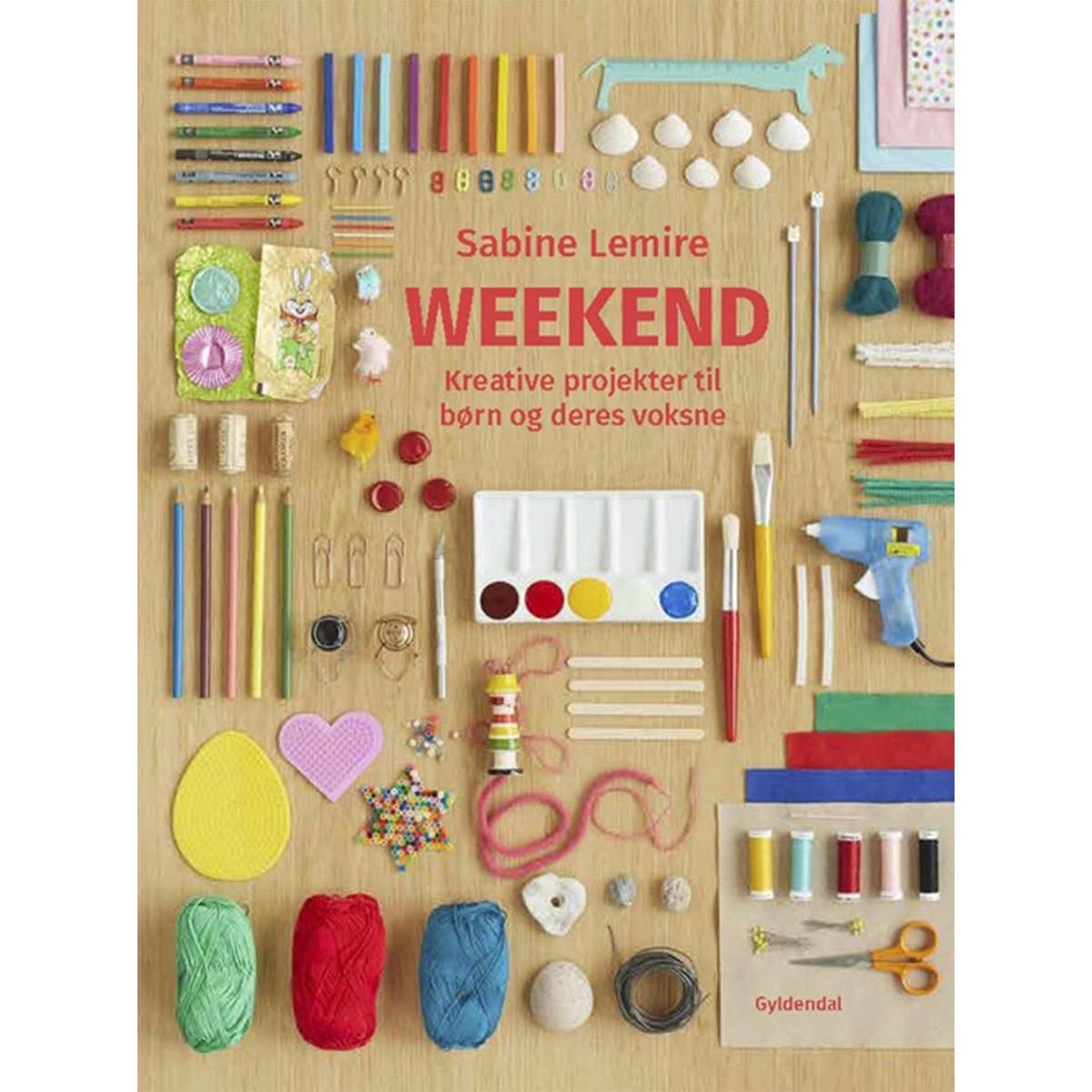 Image of   Weekend - kreative projekter til børn og deres voksne - Indbundet
