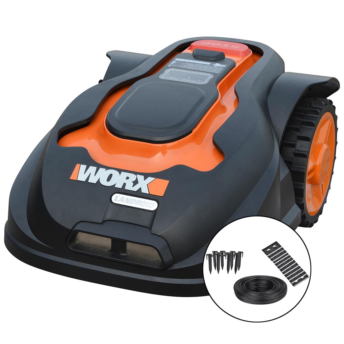 Worx Garden robotplæneklipper inkl. tilbehørssæt - Landroid M WG790E.1