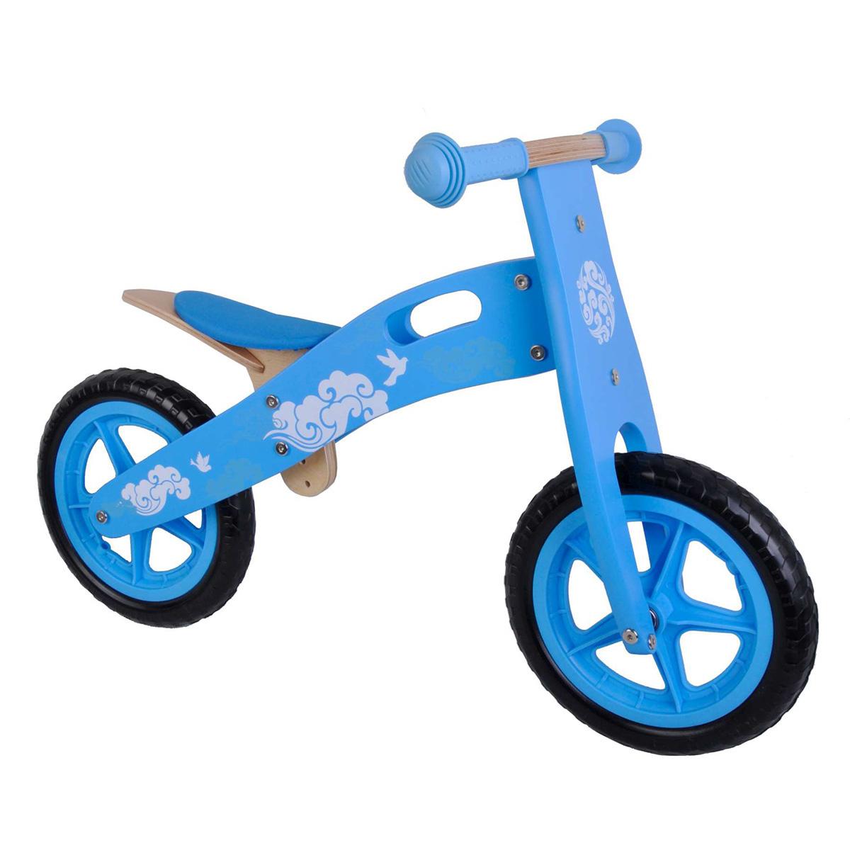 """Yipeeh løbecykel 12"""" - Lyseblå"""