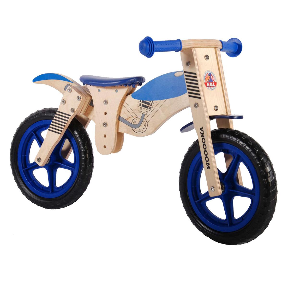 """Yipeeh løbecykel 12"""" - Motorcykel"""