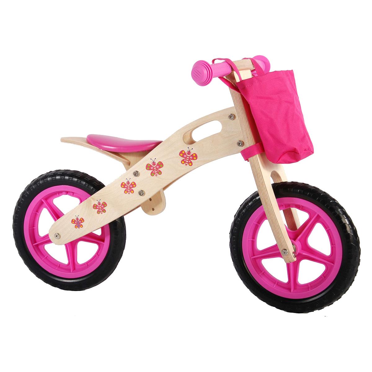 "Yipeeh løbecykel 12"" - Sommerfugl"