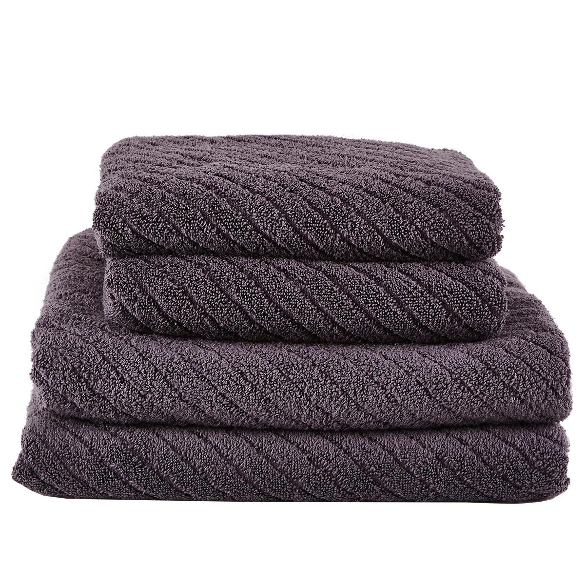 Zone håndklæder - Anthracite